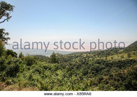 From Konso to Arba Minch, Abay Lake - Stock Photo