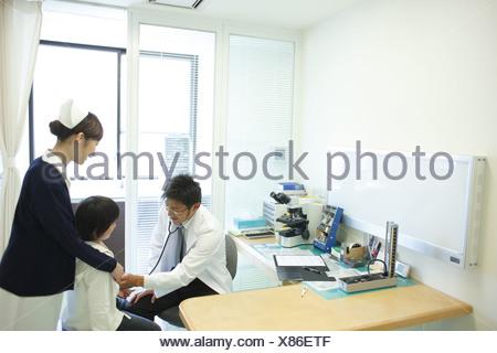 Auscultation - Stock Photo