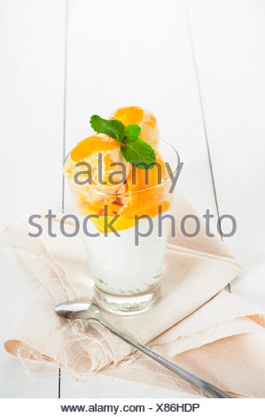 Mango icecream - Stock Photo