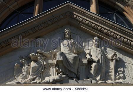 god art stone it sandstone court jesus life exist existence living lives heaven - Stock Photo