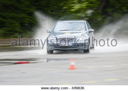 Safety training for drivers - Stock Photo