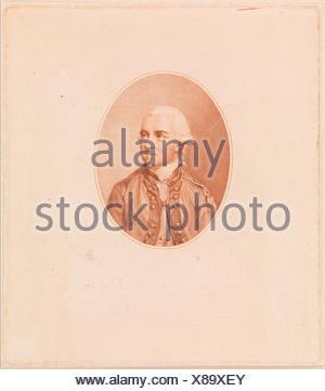 Sir Henry Clinton. Artist: Francesco Bartolozzi (Italian, Florence 1728-1815 Lisbon); Artist: After John Smart (British, Norfolk 1741-1811 London); - Stock Photo