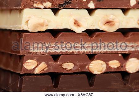 Schokoladenstapel - Stock Photo