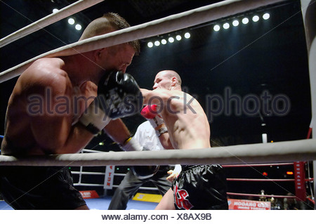 K1 fighters in a ring Stock Photo: 284180515 - Alamy