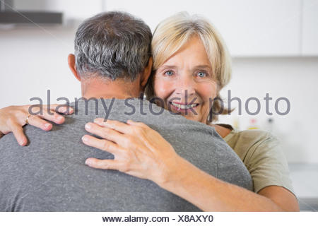 Embracing couple dancing - Stock Photo