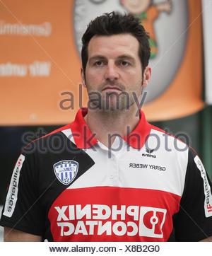 Florian Kehrmann  (TBV Lemgo) - Stock Photo
