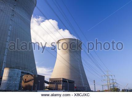 Kernkraftwerk Gundremmingen - Stock Photo