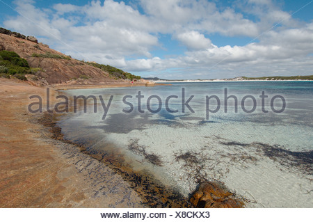 Australia, Esperance, Cape Le Grand National Park, View of sea and beach - Stock Photo