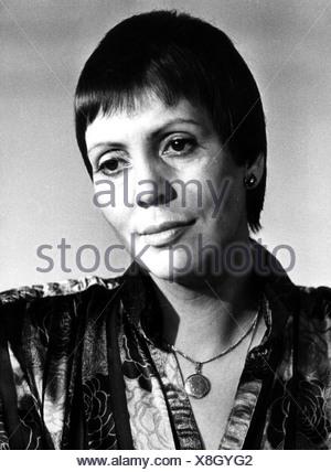 Fassbaender, Brigitte, * 3.7.1939, German opera singer, portrait, 1983, Additional-Rights-Clearances-NA - Stock Photo