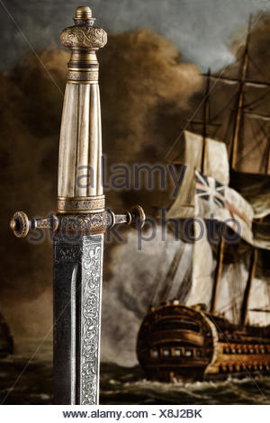 Slavic Dagger - Stock Photo