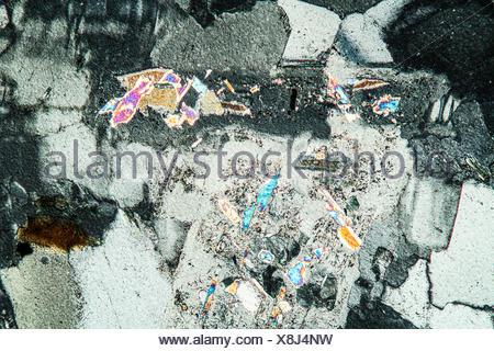chlorite thin section Stock Photo - Alamy
