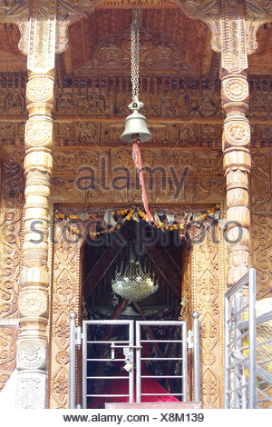 Mata Temple, Mall Road, Manali, Himachal Pradesh, India - Stock Photo