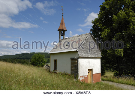 Chapel in the Black Forrest - Stock Photo