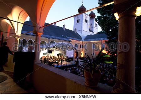 Carinthia Choir, Millstatt, Milstatt Lake, Carinthia, Austria, Europe - Stock Photo