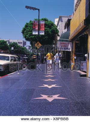 Hollywood, Los Angeles, California, USA - Stock Photo