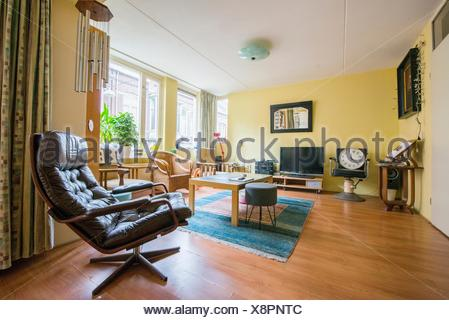 Interior Of Living Room Of Residential Flat Bombay