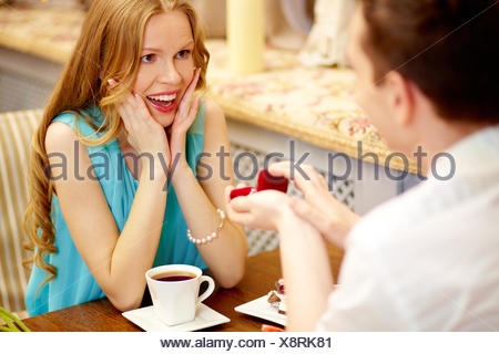 woman, cafe, restaurant, cup, blue, humans, human beings, people, folk, - Stock Photo