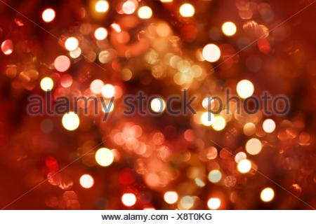 Abstract unfocused lights background - Stock Photo