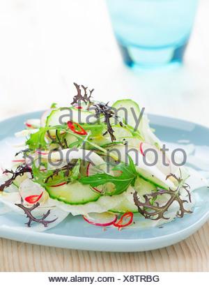 Spring salad - Stock Photo