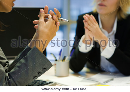 Executives in meeting - Stock Photo