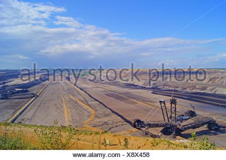 braunkohletagebau garzweiler ii - Stock Photo