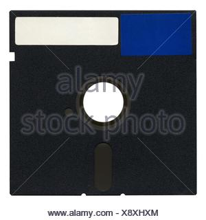 PC, computers, computer, vintage, disc, magnetic, personal, diskette, PC, - Stock Photo