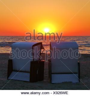 sun above the sea - Stock Photo