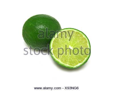 lime (Citrus latifolia) - Stock Photo