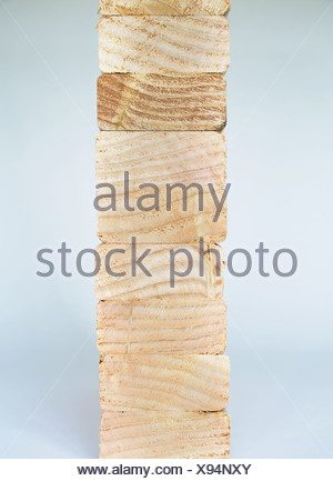 Washington State USA sawn prepared timber spruce wood planks or studs - Stock Photo