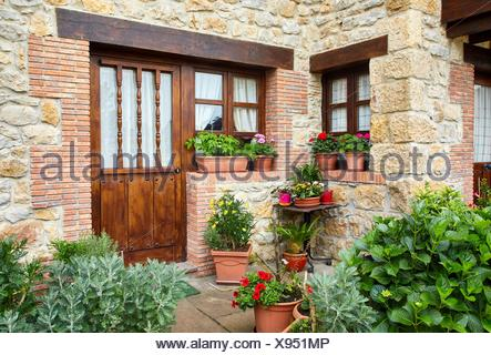Santillana del Mar, Cantabria, Spain - Stock Photo