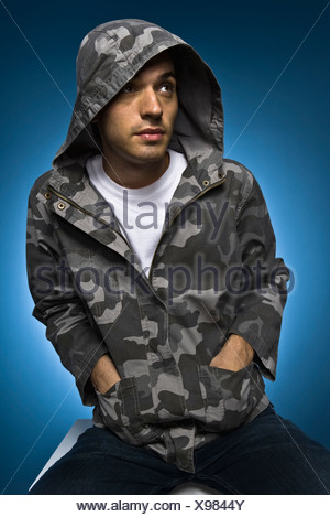 Fashionably dressed young man, portrait - Stock Photo