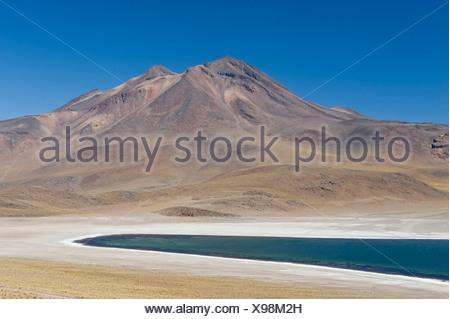 Laguna Miscanti, Atacama Desert - Stock Photo