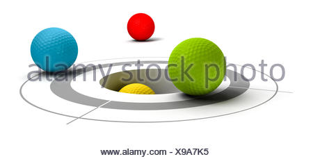 collaboration cooperation objective - Stock Photo