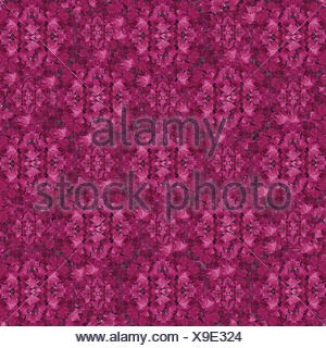 Leaves Pink Pattern - Stock Photo