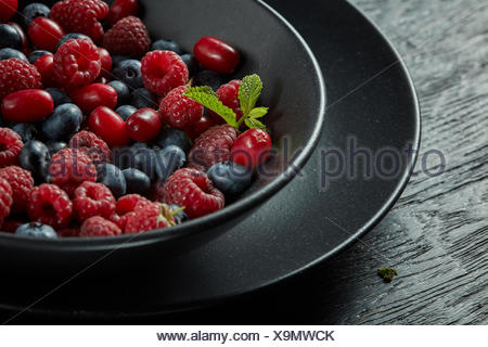 fresh healthy berries - Stock Photo
