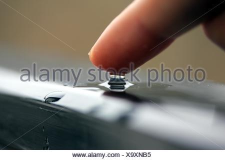water finger - Stock Photo
