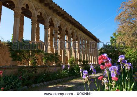 Miramar estate near Valldemossa, Valldemosa, Mallorca, Majorca, Balearic Islands, Spain, Europe - Stock Photo