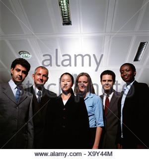 Staff members - Stock Photo