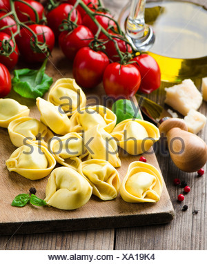 Fresh Tortellini - Stock Photo