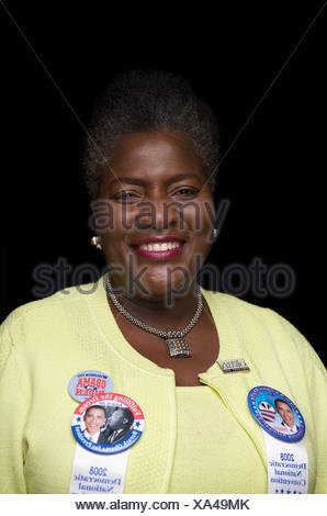 2008 Democratic National Convention portraits - Stock Photo