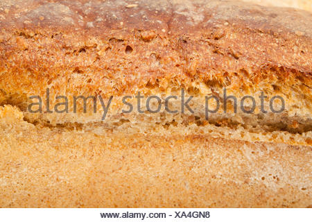 loaves of bread traditionally roasted.  Background. Close up. - Stock Photo