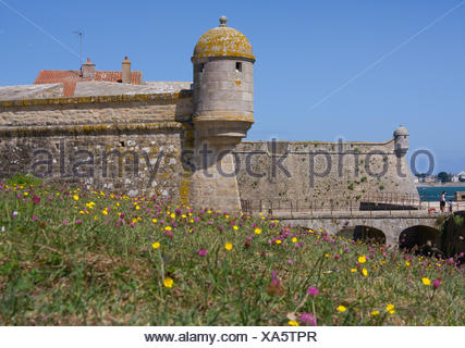 tower fortress blockhouse - Stock Photo