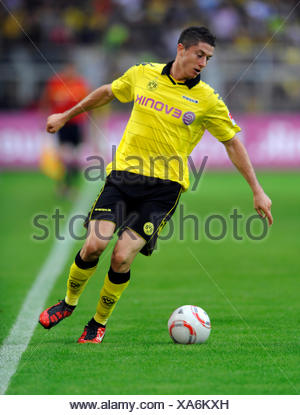 Fussball-Bundesliga, professional association football league in Germany, Season 2010-2011, 1st match of the round, Borussia - Stock Photo