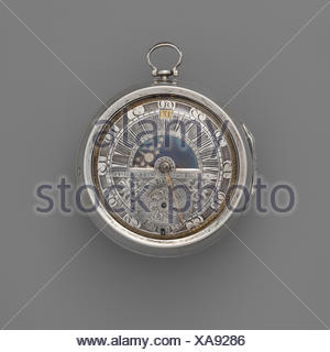 Watch. Maker: Watchmaker: Jacob Hasluck (ca. 1695, recorded 1704, died 1747); Maker: Case maker: Marcus Bellanger (French, active Amsterdam, - Stock Photo