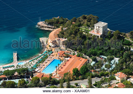 monte carlo beach hotel cote d azur france stock photo 11596118 alamy. Black Bedroom Furniture Sets. Home Design Ideas