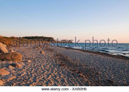 Beach on Fehmarn - Stock Photo