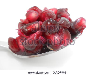 pomegranate seeds - Stock Photo