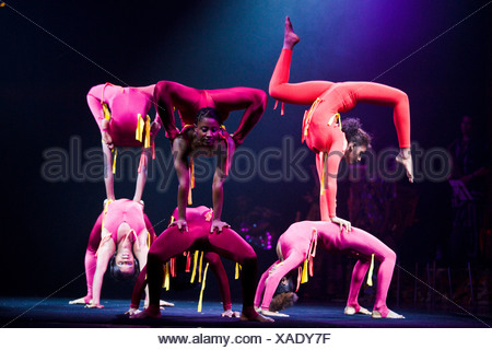 'Afrika! Afrika!' show in Berlin, Germany - Stock Photo