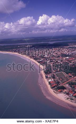 Aerial view of Joao Pessoa Paraiba Brazil - Stock Photo