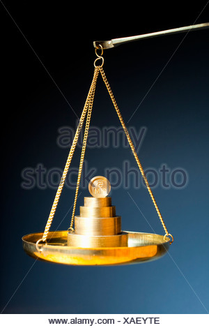 Weight on scale - Stock Photo
